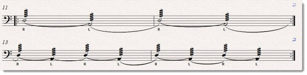 (Courtesy of http://freepercussionlessons.com/how-to-play-legato-drum-rolls-on-timpani/)