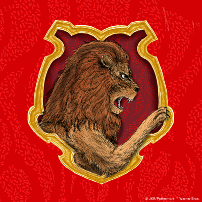Twitter Profile Image 400 x 400 px Gryffindor